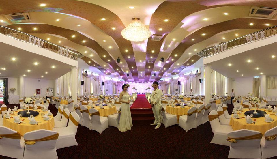 Tiêu chí về không gian lựa chọn đặt tiệc cưới