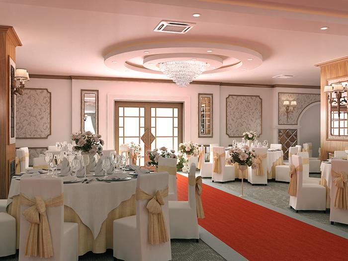 Nhà hàng tiệc cưới Hoàng Gia 1 ở Hà Đông - Hà Nội