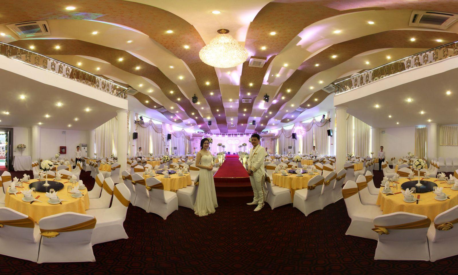 Lưu ý Không gian khi chọn nhà hàng tiệc cưới